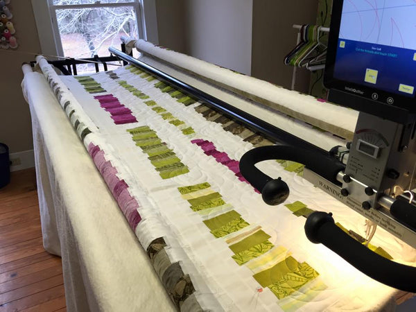 Longarm Quilting at Cary Quilting Company