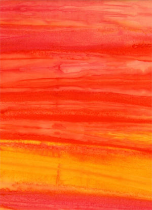 Batik Textiles - Ombre in Pink/Orange - 4336