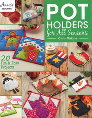 Pot Holders for All Seasons Book - AQ 141402