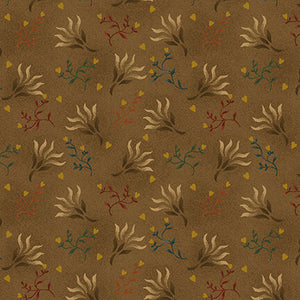 "108"" Spiced Quilt Backing - Seaweed in Brown - 0894-33"