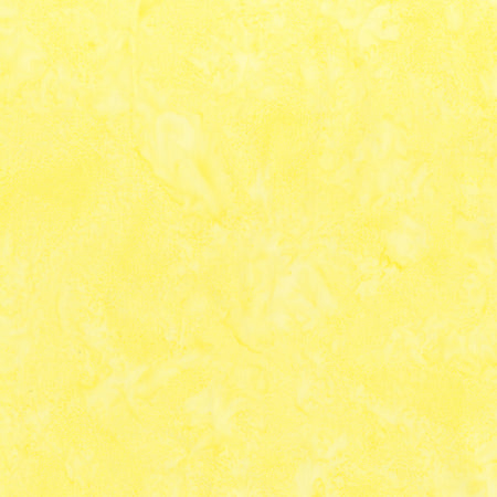 Anthology Lava Batik Solids 1402 Buttercream (Light Yellow)