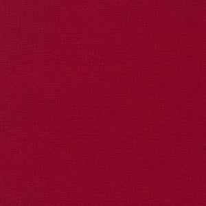"108"" Kona Cotton Solid Backing Fabric in Rich Red - K082-1551"