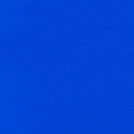 "108"" Kona Cotton Solid Backing Fabric in Royal Blue - K082-1314"