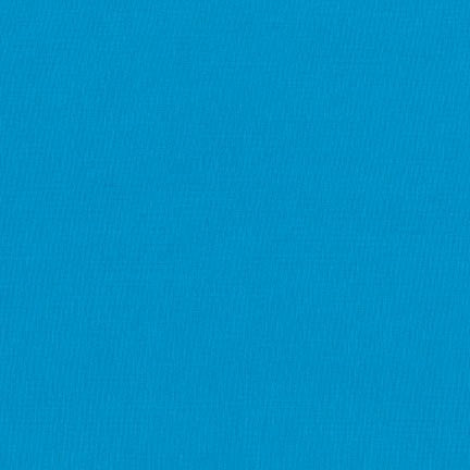 "108"" Kona Cotton Solid Backing Fabric in Turquoise - K082-1376"