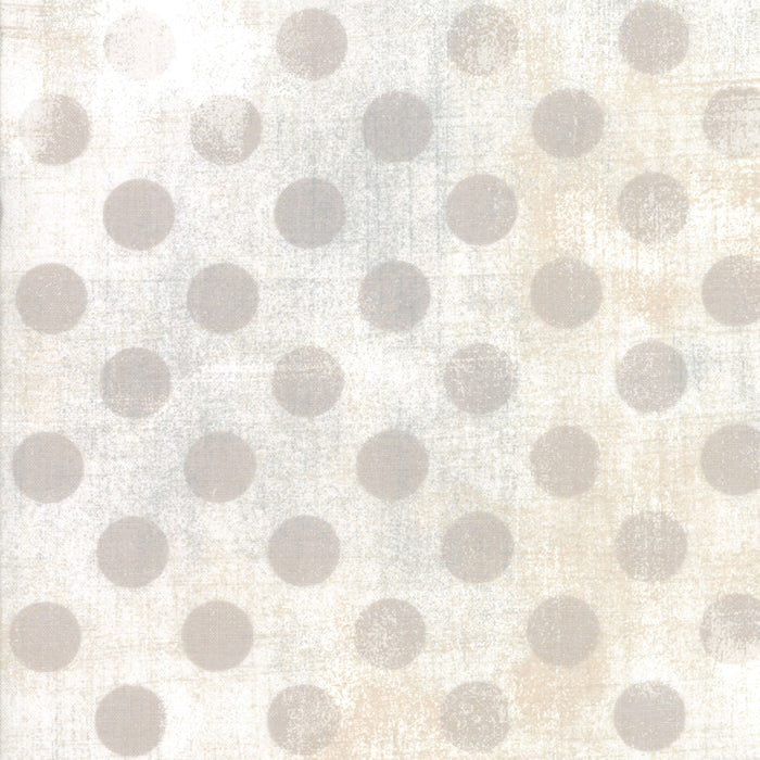 "Moda 108"" wide Grunge Hits the Spot Backing in White Paper - 11131 11"