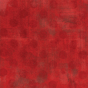 "Moda 108"" wide Grunge Hits the Spot Backing in Red - 11131 22"