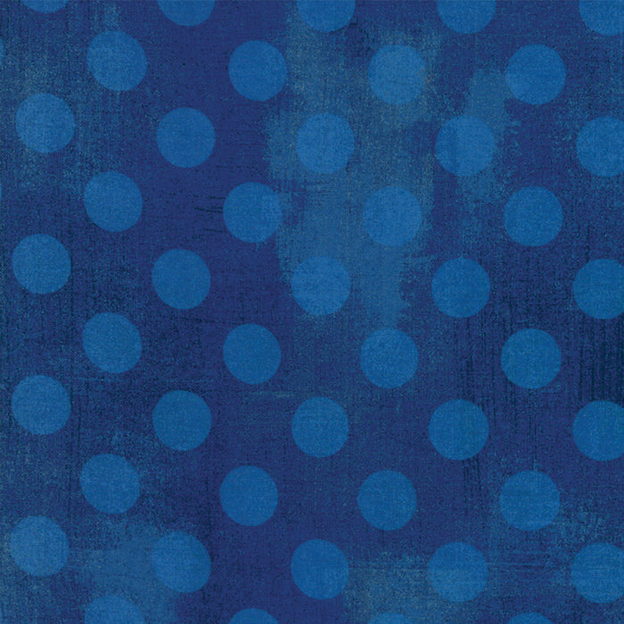 "Moda 108"" wide Grunge Hits the Spot Backing in Cobalt Blue - 11131 28"