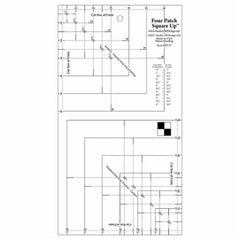 Four Patch Square Up Ruler - UDT17
