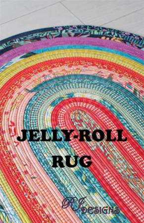 Jelly-Roll (Jelly Roll) Rug Pattern - RJD 100
