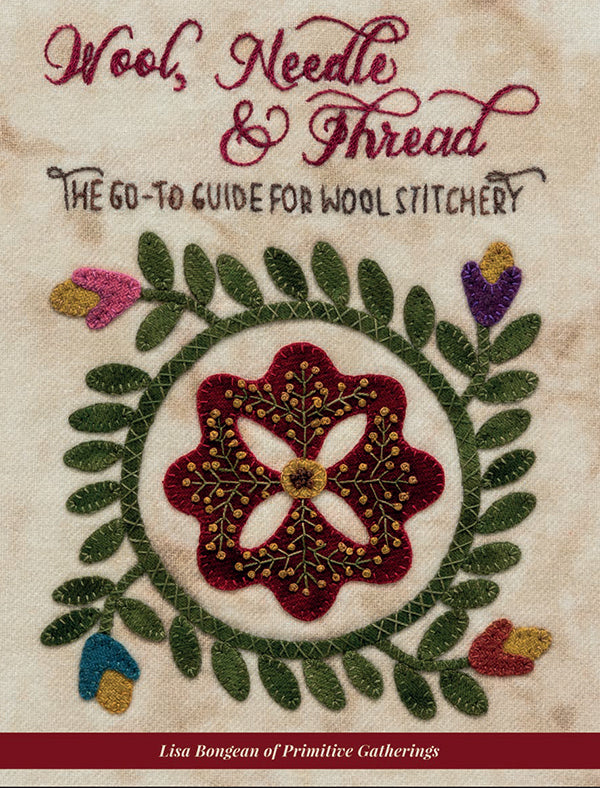 Wool, Needle, and Thread Quilt Book - B1524