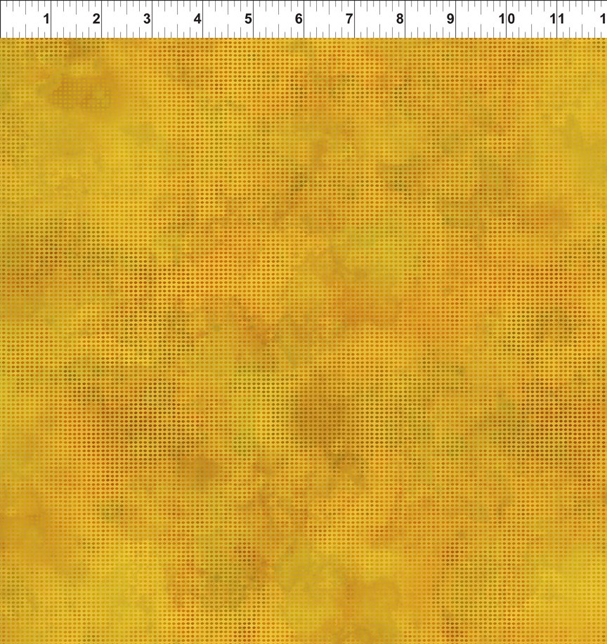 Dit Dot Evolution Quilt Fabric in Yellow - 1DDE 18