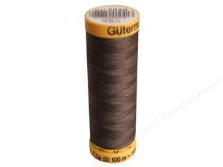 Gutermann Cotton Thread, 100m Cocoon Brown, 3630