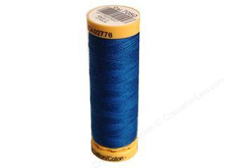 Guterman Cotton Thread, 100m Blue
