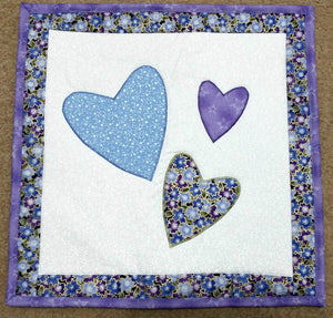 Machine Applique Class Quilt Sample at Cary Quilting Company