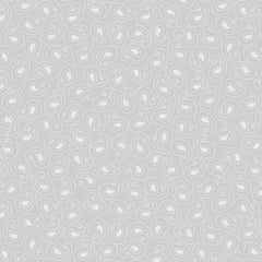 Quilting Illusions - Paisley in Gray - 1649-21519-K