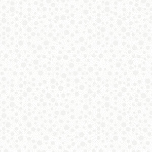 Quilting Illusions - Dots in White - 1649-21521-Z