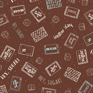 Caf-fiend - Sugar Packets in Brown - 24803-A