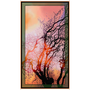 "Artworks VI - At Dawn Tree Panel - 1649-26277-X - SOLD AS A 24"" PANEL"