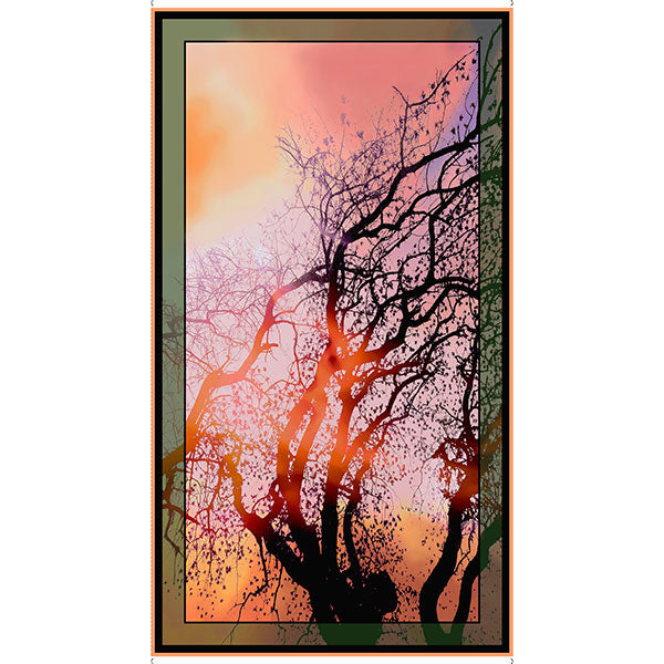 Artworks VI - At Dawn Tree Panel - 1649-26277-X - SOLD AS A 24