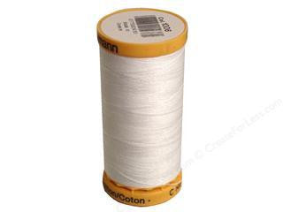 Gutermann cotton thread, 250m, White, 1006