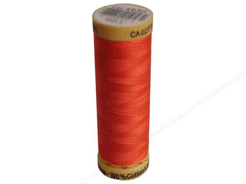 Gutermann Cotton Thread, 100m Dark Salmon, 4930