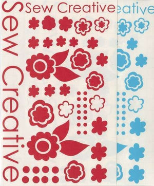 Sew Creative Sewing Machine Decals