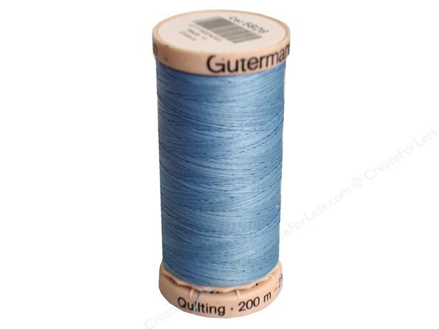 Gutermann Hand Quilting Thread in Airway Blue, 5826