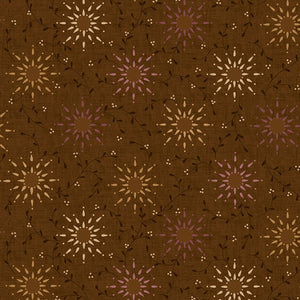 "Prairie Vine in Brown - 108"" Wide Backing - 6235-33"