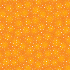 Starlet - Small Stars in Orange - 6383-ORANGE
