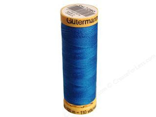 Gutermann Cotton Thread, 100m Medium Blue, 7280