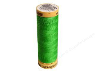 Gutermann Cotton Thread, 100m Apple Green, 7850