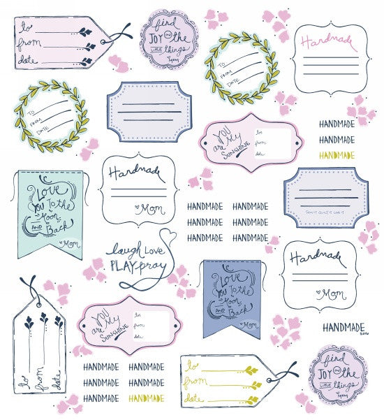 Sew-It-Quilt-It-Love-It - Labels in White - 6662-21