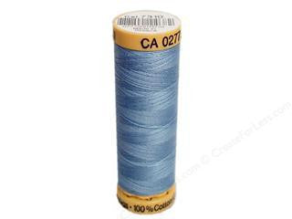 Gutermann Cotton Thread, 100m Light Blue, 7310