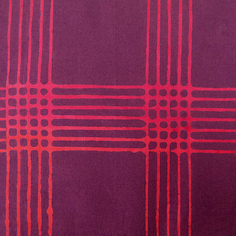 Chroma - Plaid in Wine - AB-8132-R1