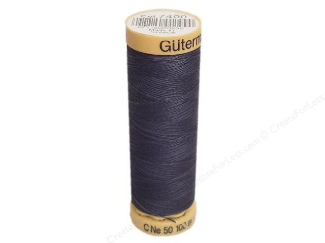 Gutermann Cotton Thread, 100m Dark Cosmos Blue, 7400