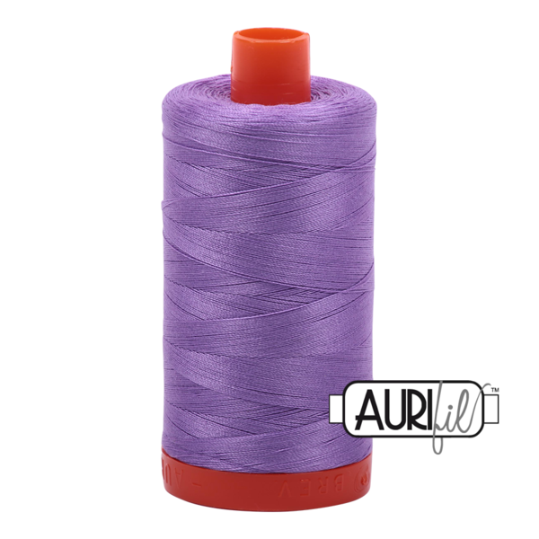 Aurifil 50 wt cotton thread, 1300m, Violet (2520)