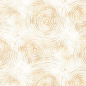 "108"" Circle Play Quilt Backing - Cream/Beige - 8700-4"