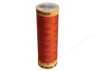 Gutermann Cotton Thread, 100m Terracotta, 4850