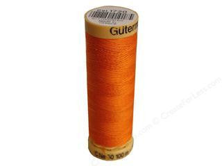 Gutermann Cotton Thread, 100m Orange, 1720