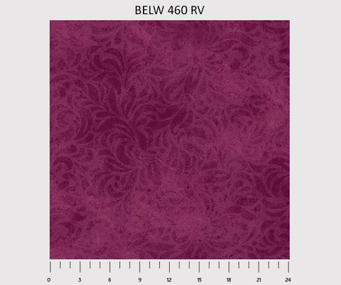 "110"" Bella Suede Wide Backing in Burgundy - BELW-460-RV"