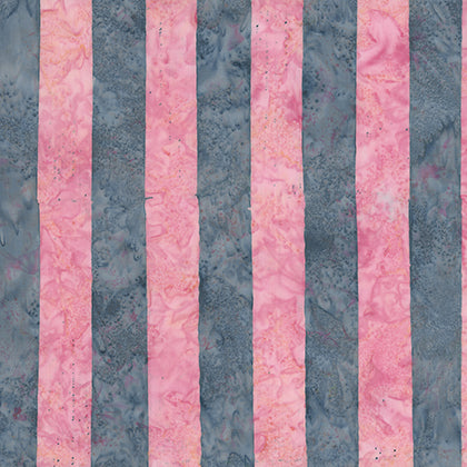 Artisan - Batik - Big Stripe in Pink - BKKF005.0PINK