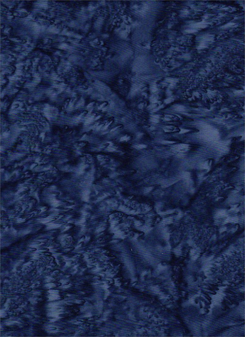 Batik Textiles Quilt Fabric - Blender in Navy Blue - 4545B