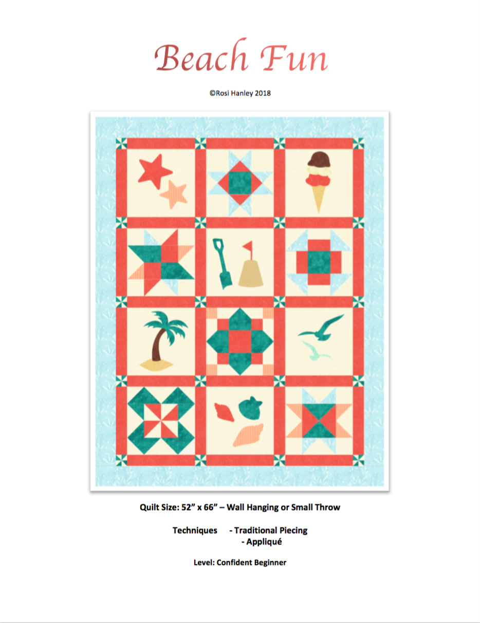 Digital Download: Halloween Fun Quilt Pattern by Rosi Hanley