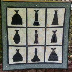 Little Black Dress Quilt Pattern by Rosi Hanley