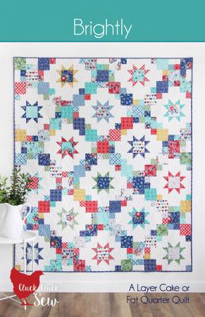 Brightly Quilt Pattern - CCS193