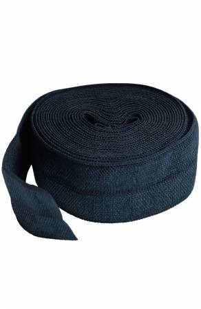 By Annie's Fold-over Elastic, 2 yards - Navy - SUP211-2-NVY