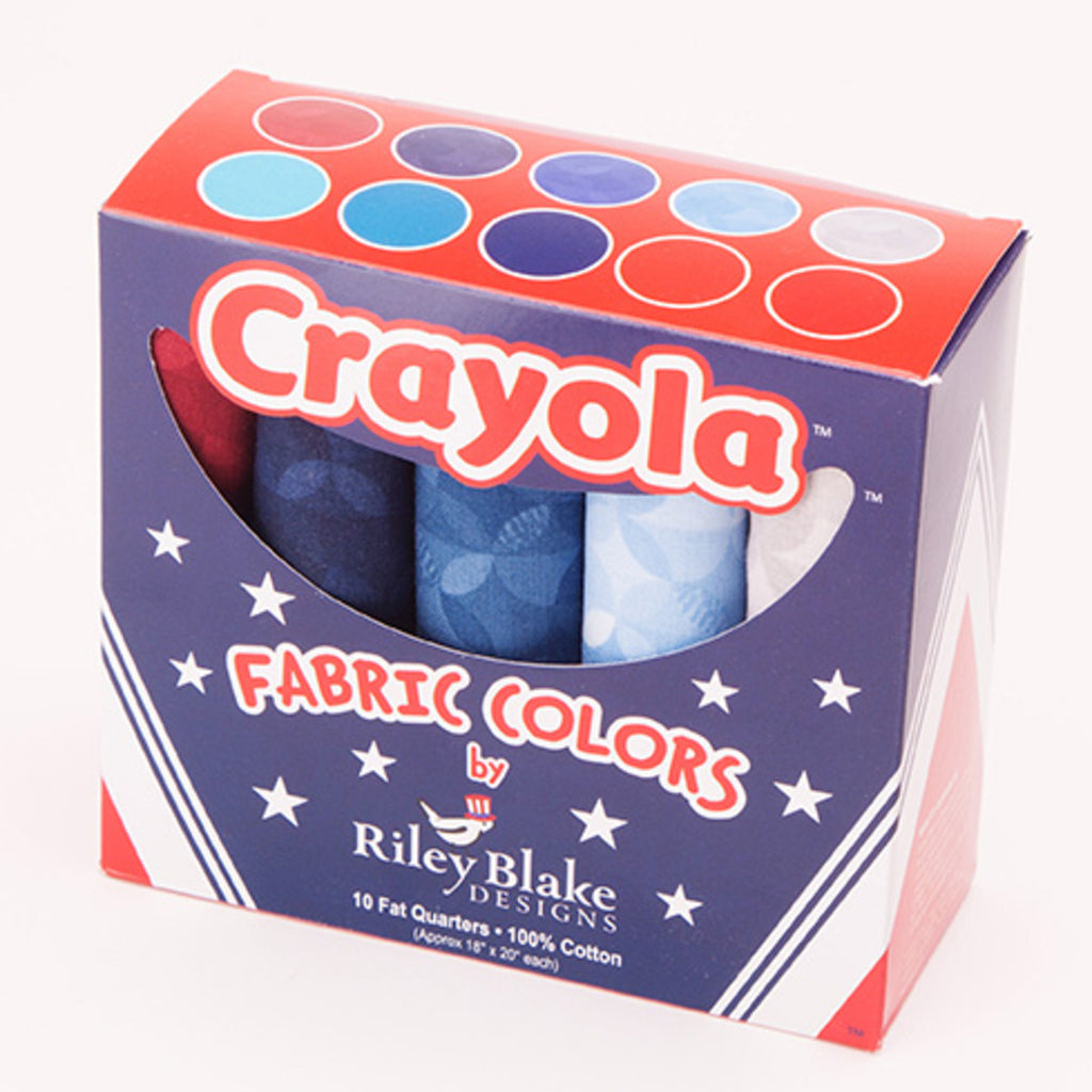 Crayola Kaleidoscope Fat Quarter Box - Fourth of July  - FQB-480FO-10