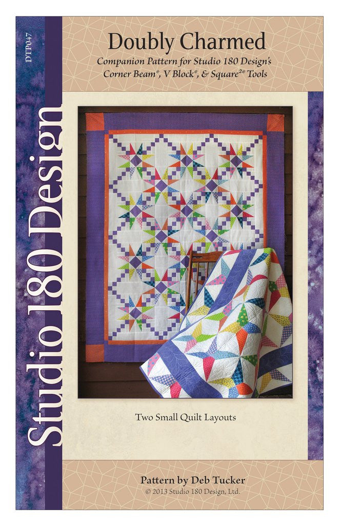 Doubly Charmed Quilt Pattern - DTP047w