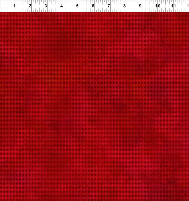 Dit Dot Evolution Quilt Fabric in Cherry Red - 1DDE 11