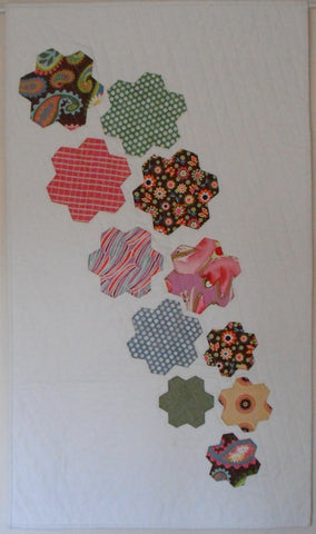 Digital Download: Falling Flowers Quilt Pattern